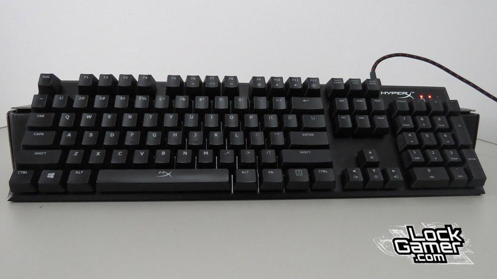 Alloy FPS teclado modo iluminação desligada