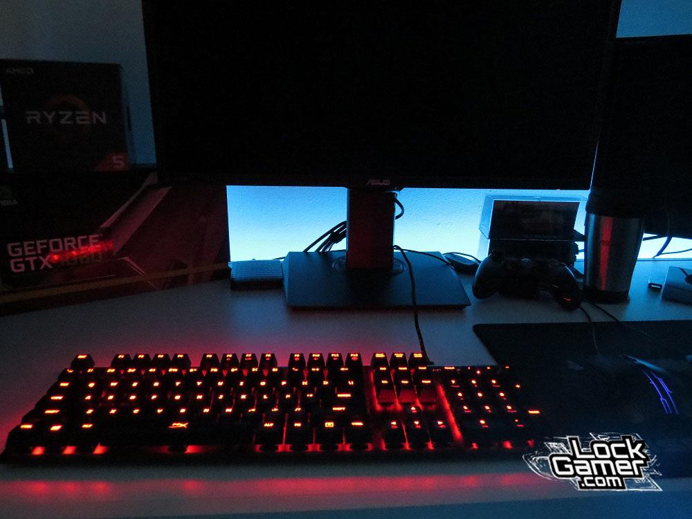 Alloy FPS teclado sem RGB personalizar