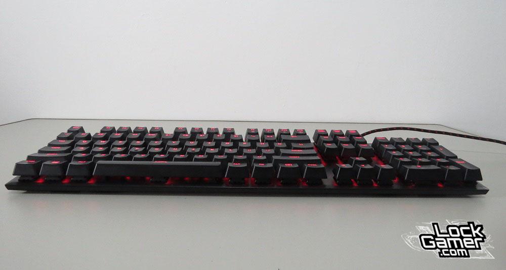 Alloy FPS teclado teclas flutuantes