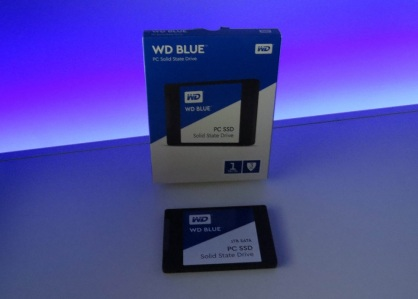 SSD Western Digital 1TB Blue review compensa box