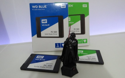SSD Western Digital 1TB Blue review compensa vs Green