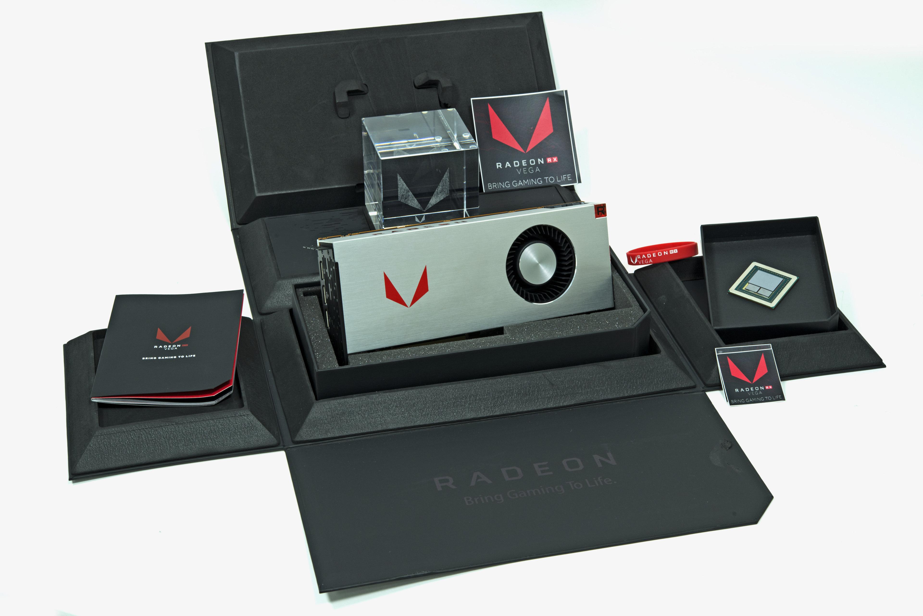 AMD lança RX VEGA 56 e 64 para games