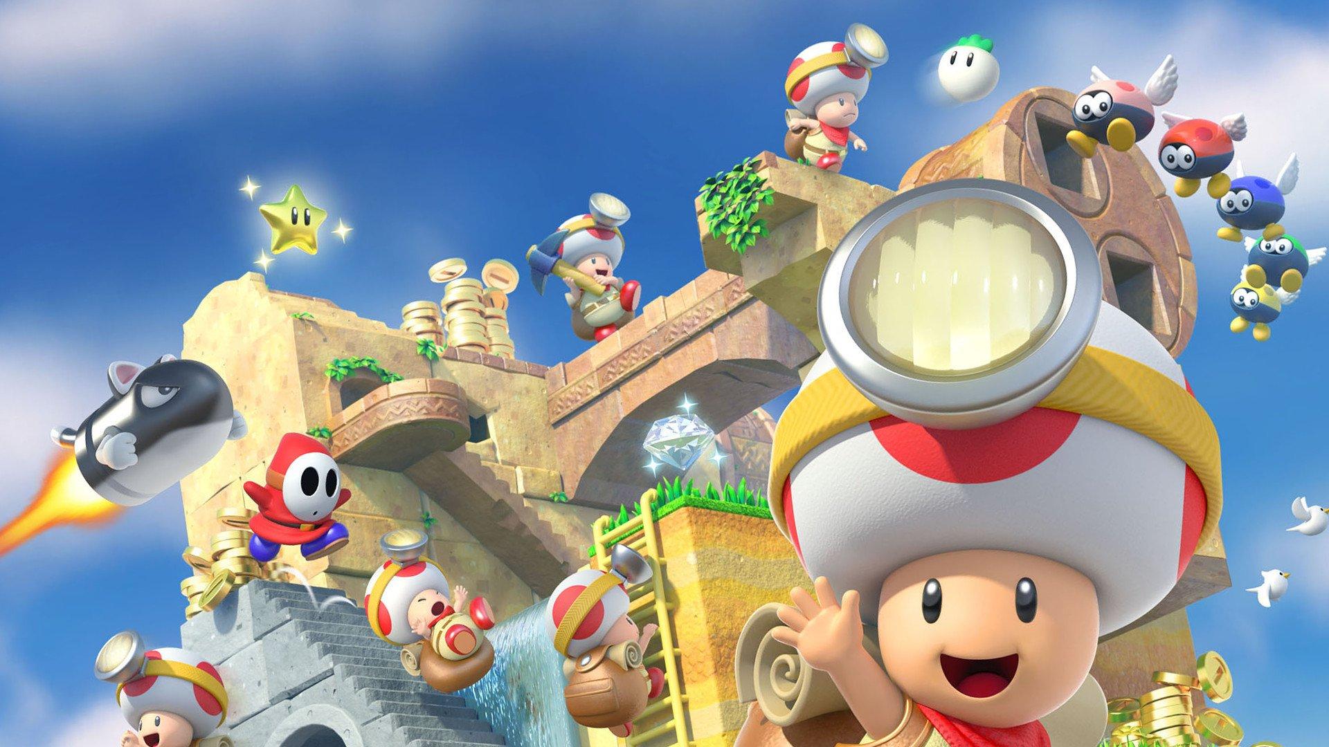 Captain Toad: Treasure Tracker é um bom jogo do personagem e pode ser testado na eShop